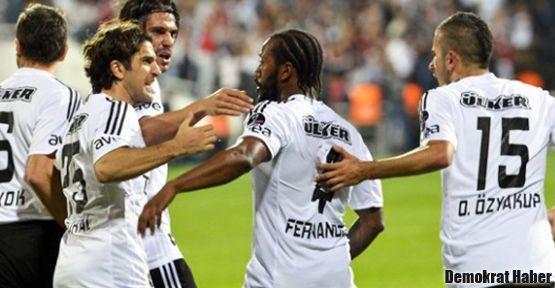 Beşiktaş üç puanı almayı başardı