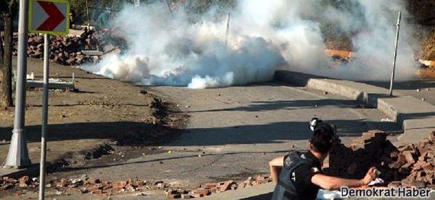 Beşiktaş'ta sabah gazı
