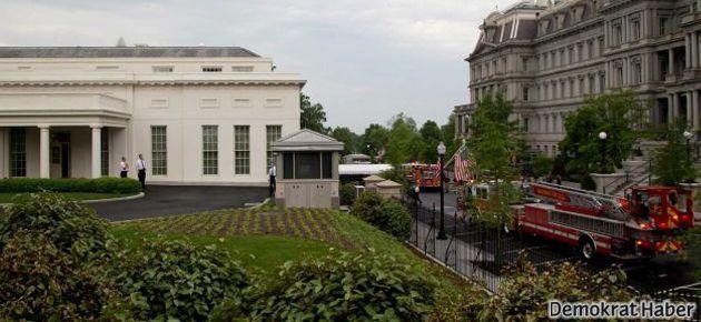 Beyaz Saray boşaltıldı