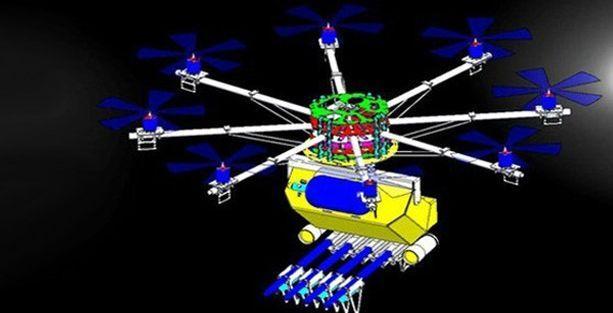 Biber gazı sıkan insansız hava aracı satışta!