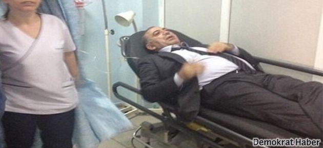 CHP'li Tekin biber gazı nedeniyle hastaneye kaldırıldı