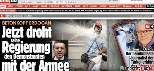 Bild: Beton kafalı Erdoğan