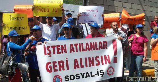 Bilgi Üniversitesi'nde işten çıkarılmalara protesto