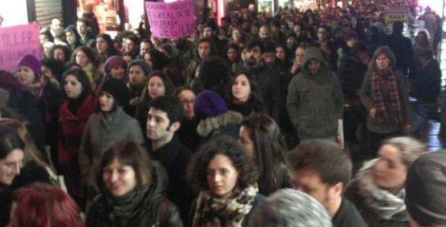 Binlerce kişi Kadıköy'de Özgecan için yürüdü