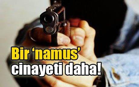 Bir 'namus' cinayeti daha