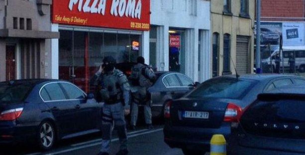 Bir rehine krizi de Belçika'da