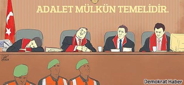 Bir 'uyuyan hakim' skandalı da İzmir'de