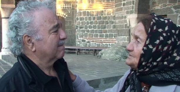 Birbirini tanımayan iki Diyarbakırlı Ermeni'nin kavuşma anı