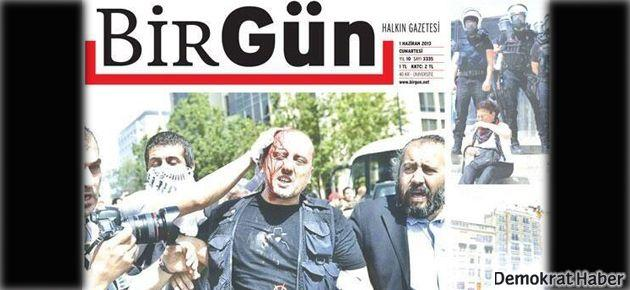 BirGün'ün ilk sayfasında 'faşizm' vardı