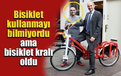 Bisiklet kullanmayı bilmiyordu ama bisiklet kralı oldu
