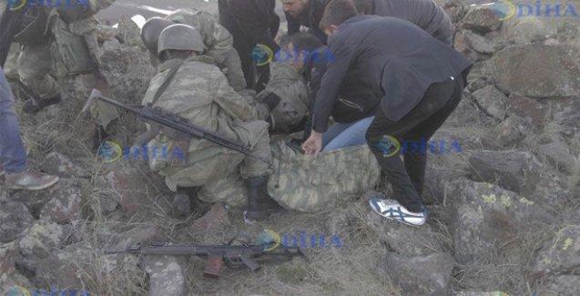 'Biz canlı kalkan olduk yaralı askerleri taşıdık fakat onlar bizi de taradı'