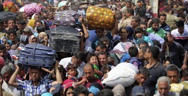 BM: 90 bin Irak'lı IŞİD'in saldırdığı Anbar'dan kaçıyor