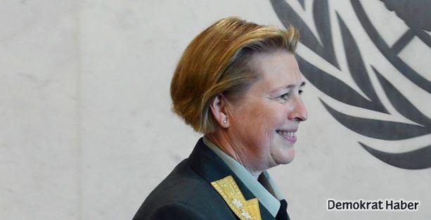 BM barış gücünde ilk kadın komutan