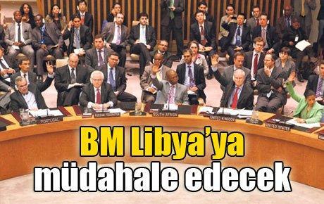 BM Libya'ya müdahale edecek