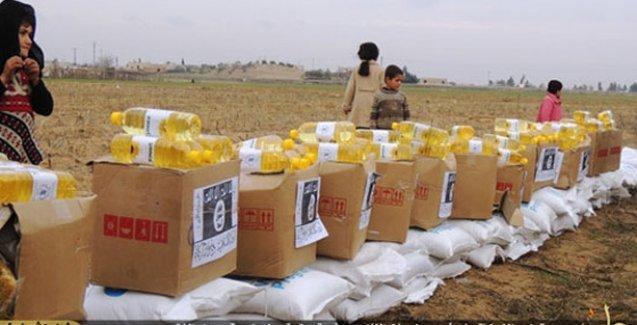BM'nin yardımlarına IŞİD kendi damgasını basıp dağıttı!