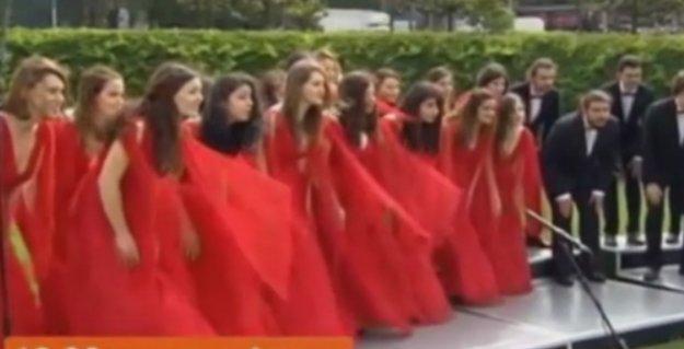 Boğaziçi Caz Korosu'ndan canlı yayında NTV Gezi golü!