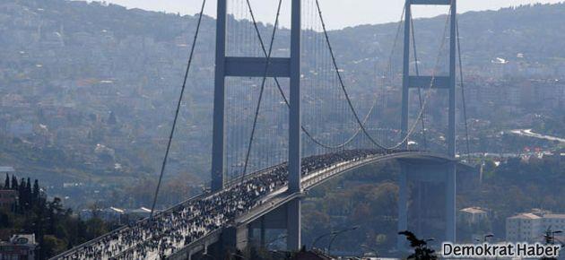 Boğaziçi Köprüsü yine sallandı