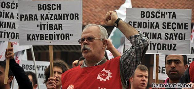 Bosch işçileri İstanbul'da çadır kuracak