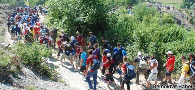 Bosna'da 'Ölüm Yürüyüşü'