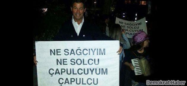 Boyner'den Gezi direnişine destek pankartı