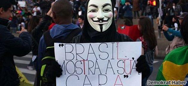 Brezilya gençliğinin mesajı