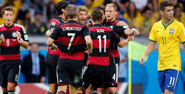 Brezilya, Kupa tarihindeki en ağır yenilgisini aldı