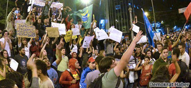 Brezilya Cumhurbaşkanı: Eylemlerle gurur duyuyorum