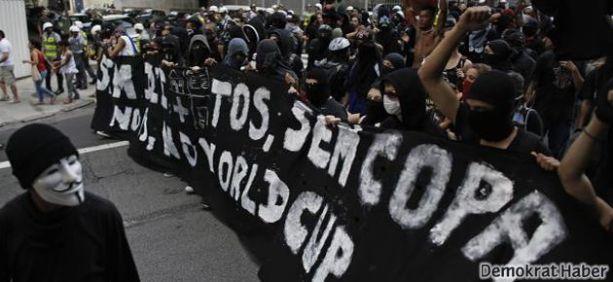 Brezilya'da protestolar sürüyor