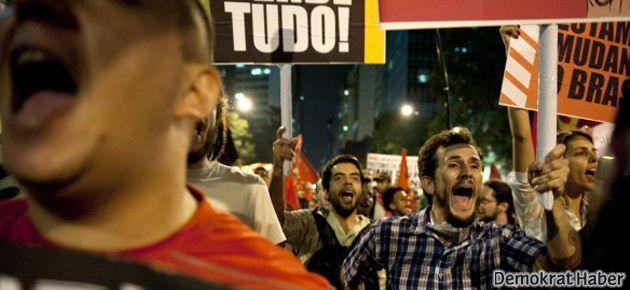 Brezilyadaki isyancılar: Burası artık Türkiye!