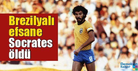 Brezilyalı efsane Doktor Socrates öldü