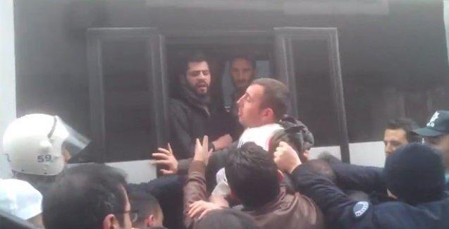 Bross Tekstil işçilerine polis saldırdı, gözaltılar var