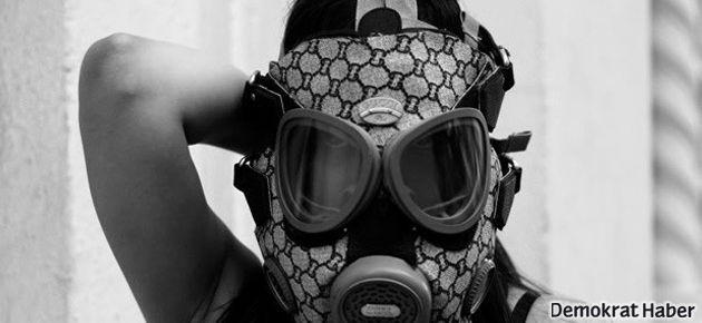 Bu da sosyeteye özel 3000 euro'luk gaz maskesi