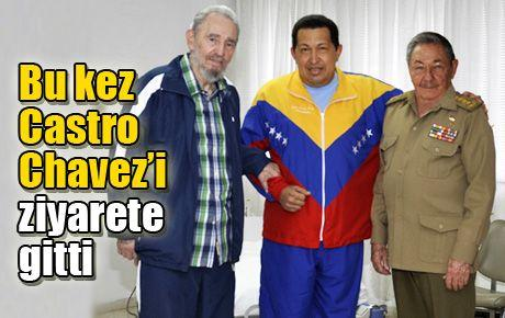 Bu kez Castro Chavez'i ziyarete gitti