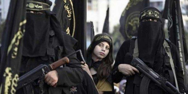 'Bugüne kadar Almanya'dan 70 kadın IŞİD'e katıldı'