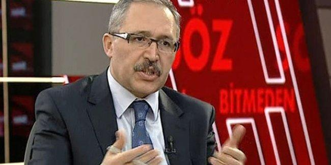 Bülent Arınç'ın 'Erdoğan' çıkışına Abdülkadir Selvi'den destek