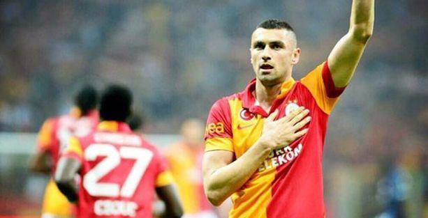 Burak Yılmaz 2019'a kadar Galatasaray'da
