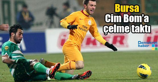 Bursa Cim Bom'a çelme taktı