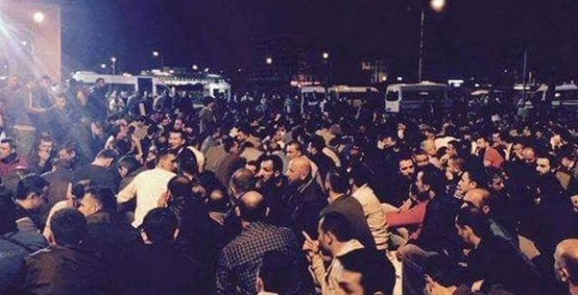 Bursa'da zafer işçilerin