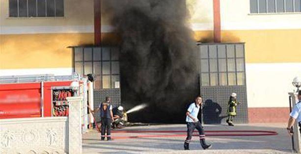 Bursa'da bir fabrikada patlama; yaralılar var