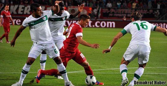 Bursaspor da Avrupa defterini kapattı