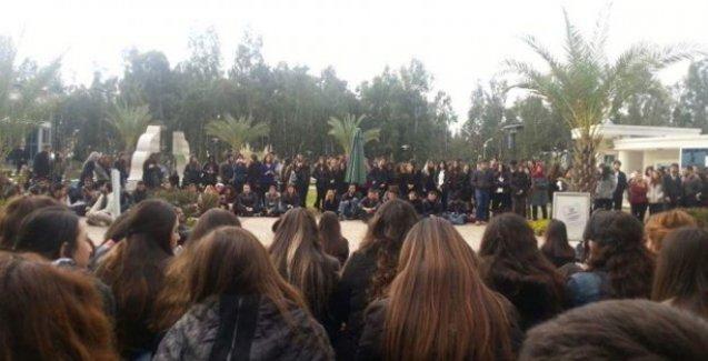 Çağ üniversitesi Özgecan için boykotta