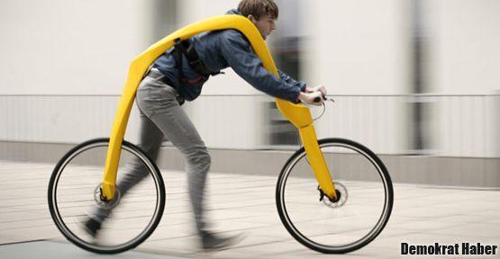 Çakmaktaşlar'ın bisikleti gerçek oldu