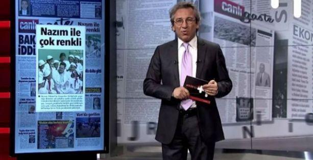 Can Dündar:  Türkiye medyasında bir satır yolsuzluk yazılmadı