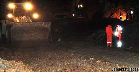 Çanakkale'de de maden göçtü