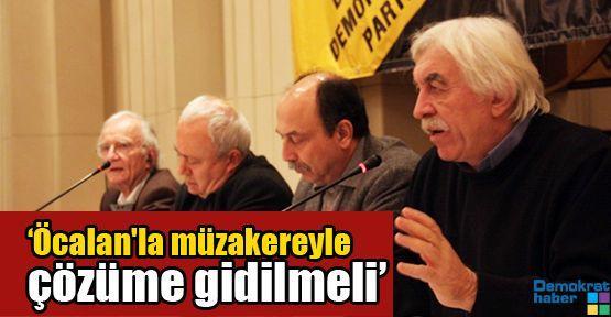 Çandar: 'Öcalan'la müzakereyle çözüme gidilmeli'