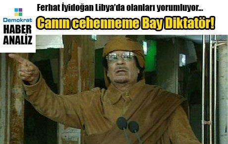 Canın cehenneme Bay Diktatör!