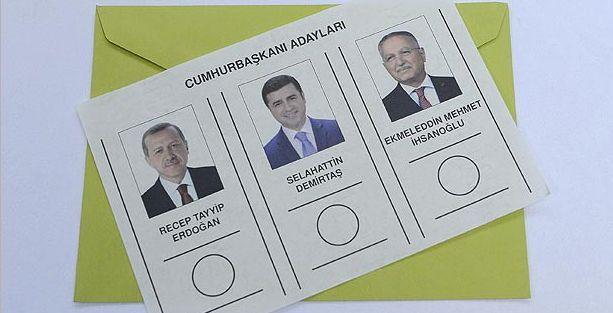 Çankaya adaylarının oy pusulaları basıldı