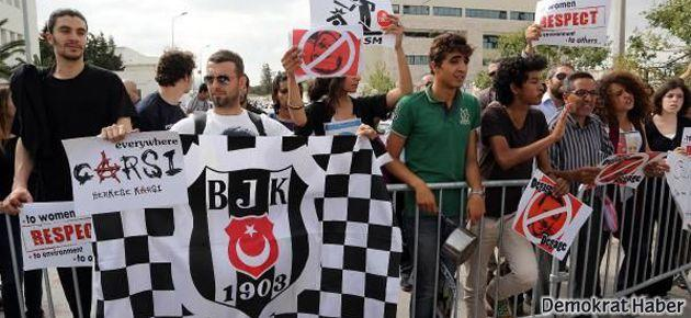 Çarşı Erdoğan'a Tunus'ta da karşı