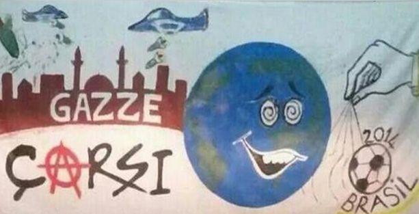 Çarşı: İsrail'i Filistin'den defedeceğiz