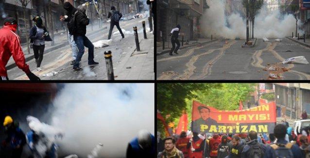Çayan Kaplan'ın objektifinden: Okmeydanı'nda 1 Mayıs direnişi